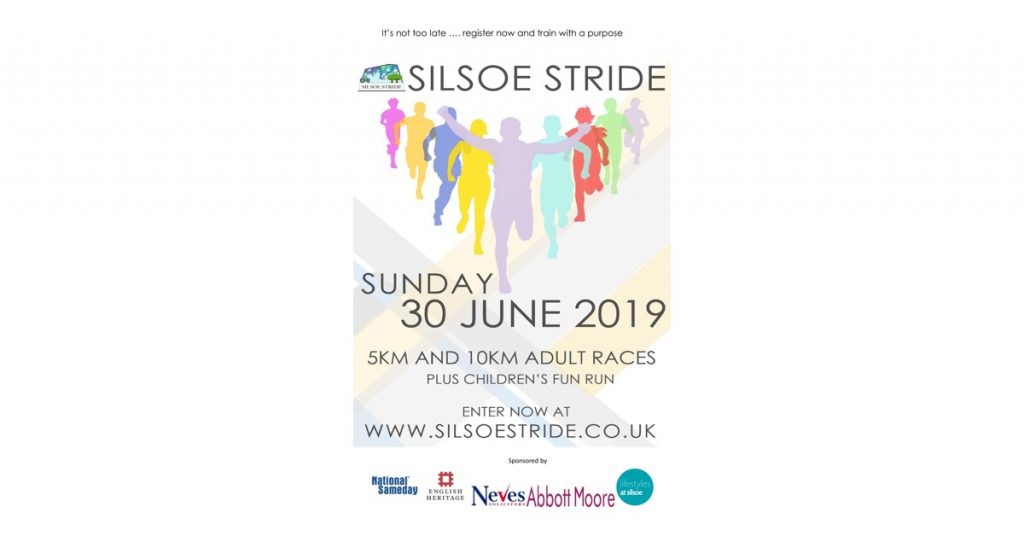 National Sameday Sponsors Silsoe Stride - Wrest Park