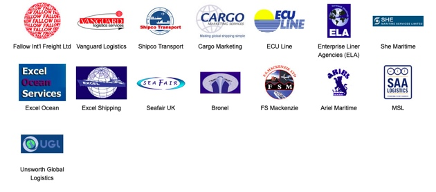 National Sameday Road Transport Sea Freight LCL