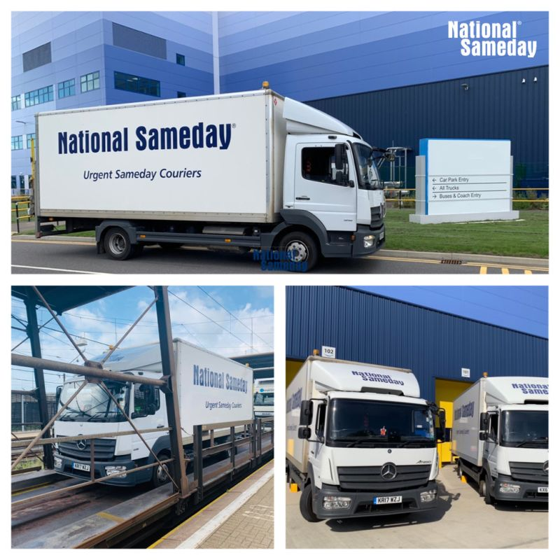 National Sameday Delivery to Europe