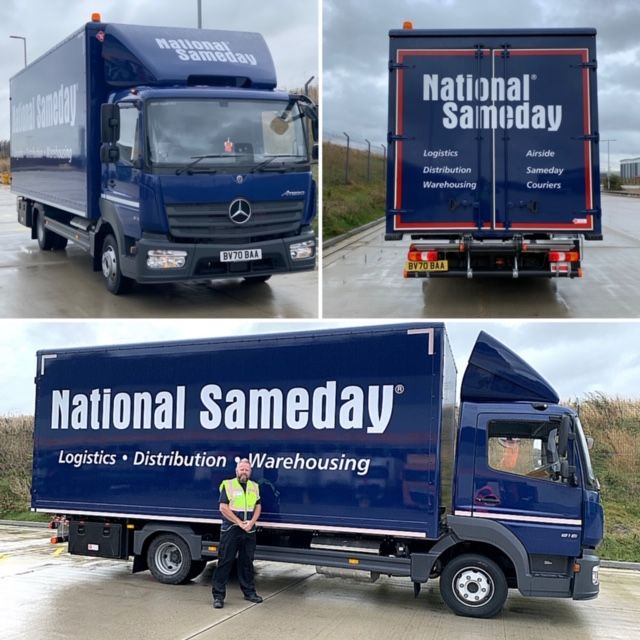 National Sameday 7.5T Lorry